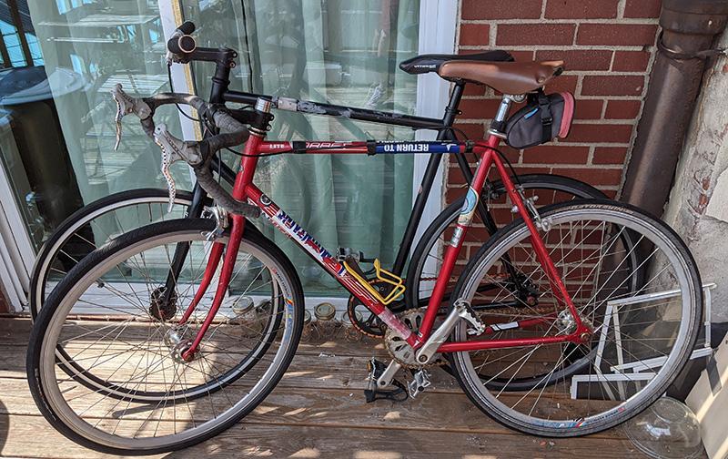 Some bikes